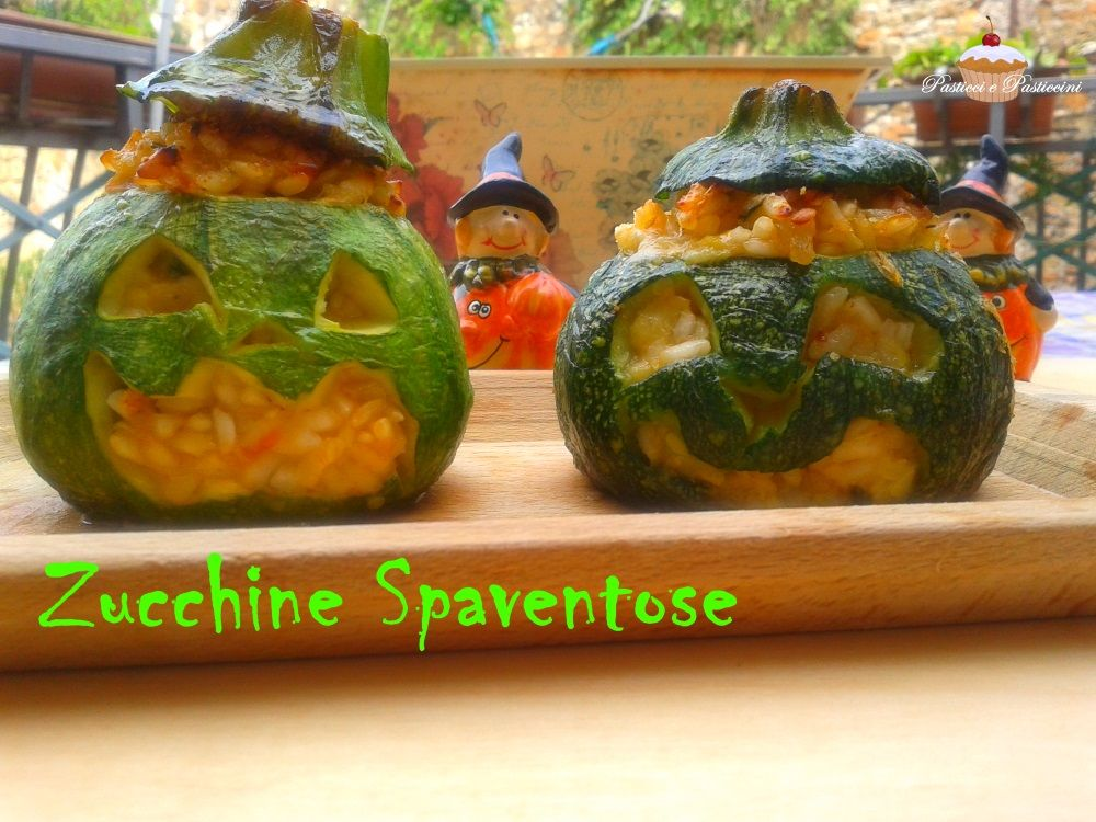 Zucchine spaventose cucinare le zucchine zucchine e ricette for Cucinare le zucchine