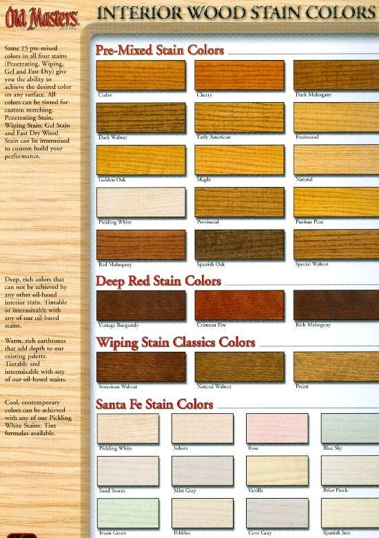 Wood stain colors interior colorstime for  makeover beckerle lumber is your also color chart stains can be mixed into custom rh pinterest