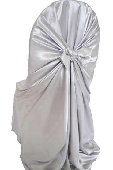 Platinum Universal Chair Cover 3 49 Wedding Linens Direct