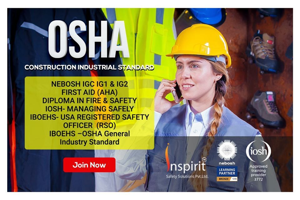 Get Prepared In Occupational Health And Safety Course Osha You