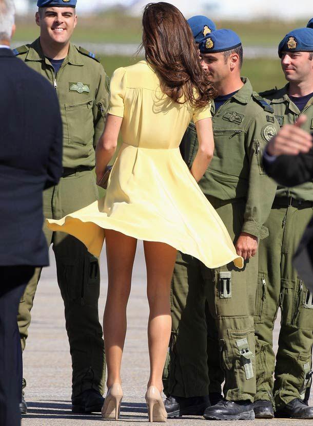 14 Times Kate Middleton Showed Off More Than She Should Have