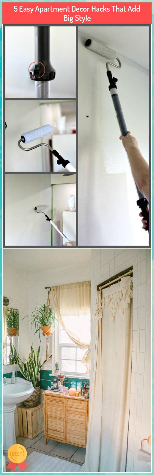 5 Easy Apartment Decor Hacks That Add Big Style #Easy #Apartment #Decor #Hacks #That #Add #Big #Style