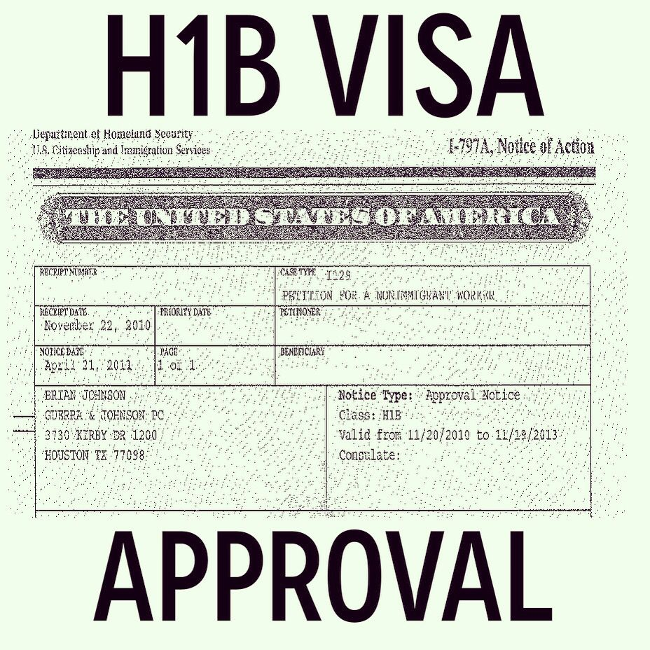 The filing period for H1B Visas will start soon! Contact