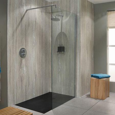 Shower Board No Grout Shower Masterbathroom Bathroom