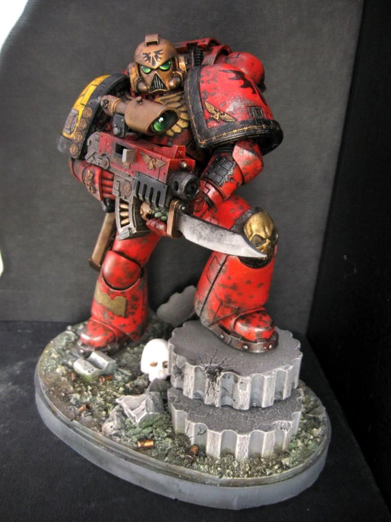 Angel, Blood, Forge World, Large, Space, Space Marines | 40k