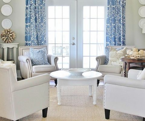 The Tour Of The House That Photographed Itself Curtains Living