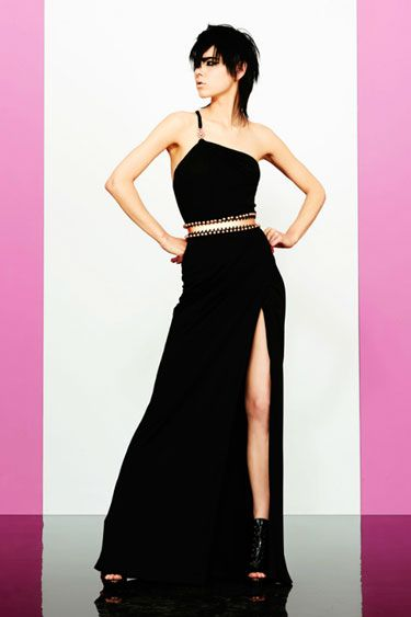 Versace Resort 2013; Still obsessed with slits..I think I'll make a skirt with one it's about time anyway...