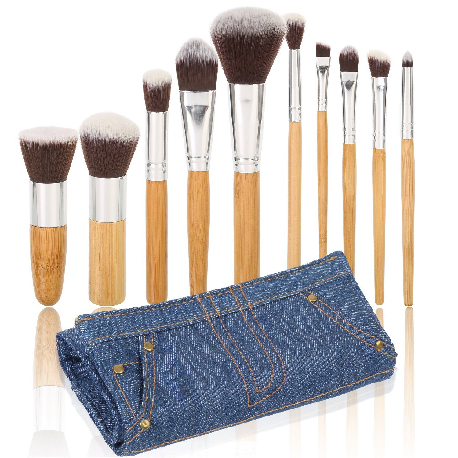 Ivaton Pro Signature Brush Set Includes 10 Pieces
