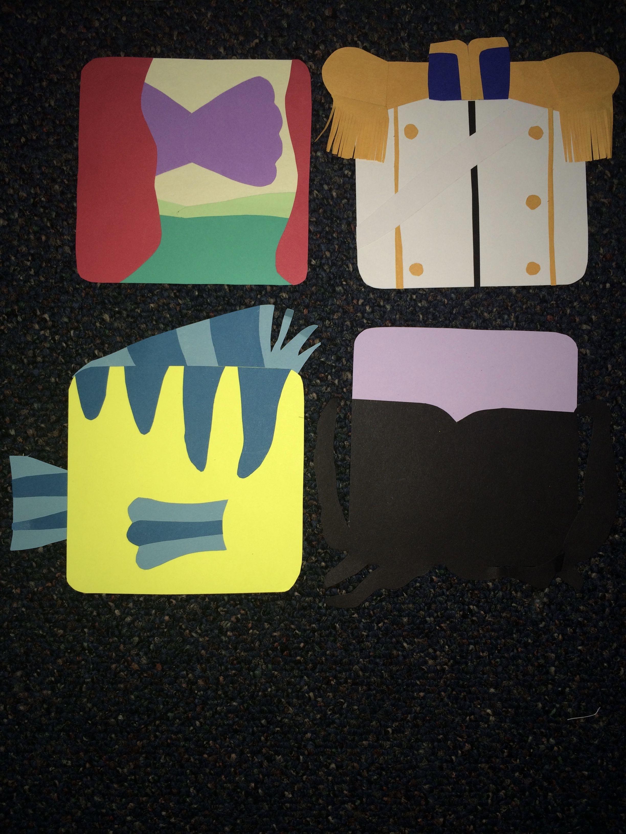 My Disney/Pixar door decs! (made entirely with card stock paper)  & My Disney/Pixar door decs! (made entirely with card stock paper ...