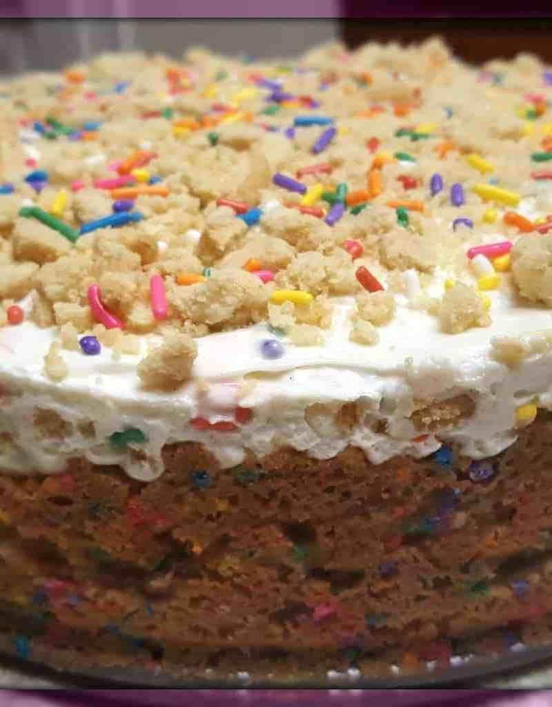 Funfetti Birthday Cake Cheesecake Desserts Pinterest Birthday