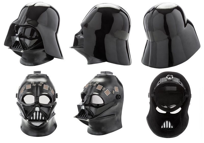 darth vader helmet real size replica collector geek stuff pinterest vader helmet darth. Black Bedroom Furniture Sets. Home Design Ideas