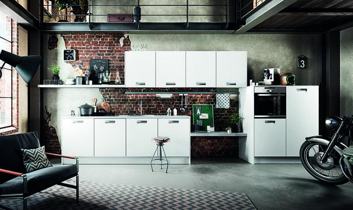 INTEGRALE weiß #häcker #häckerküchen #classic #küchenplanung - interieur in weis und holz modern design