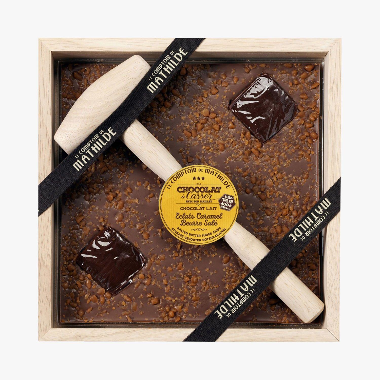 Chocolat A Casser Lait Eclats Caramel Beurre Sale Le Comptoir De Mathilde Find This Product On Bon Marche Chocolat Le Comptoir De Mathilde Chocolat Au Lait
