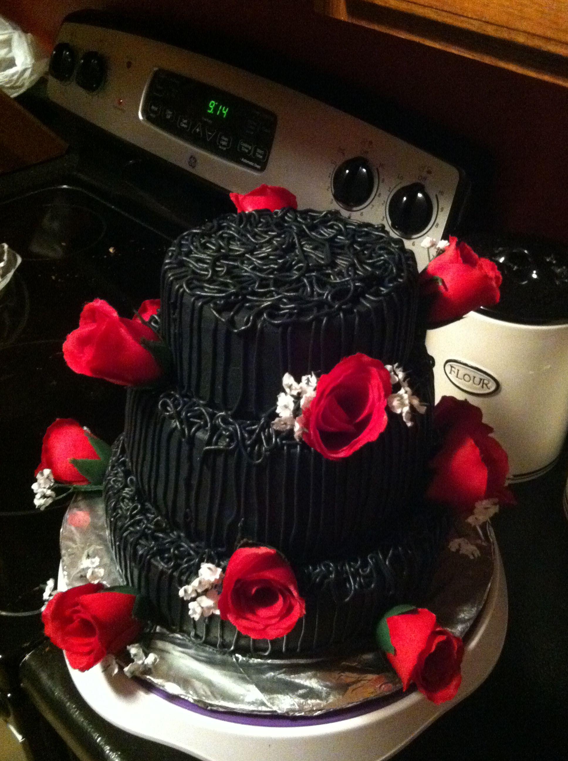 Halloween wedding cake my dream wedding pinterest halloween