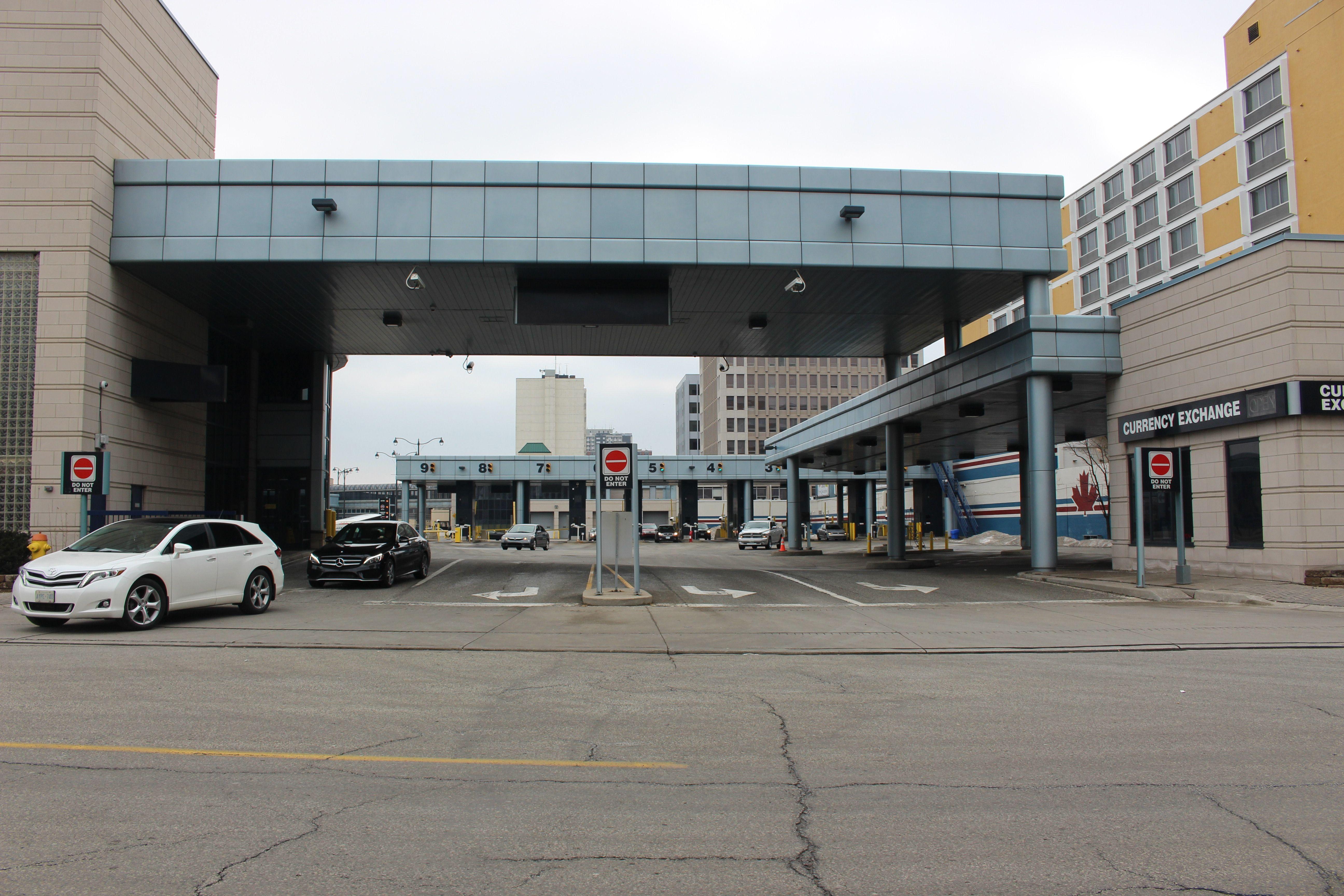 Detroit Windsor Tunnel Closed Detroit Ontario Canada Detroit Michigan