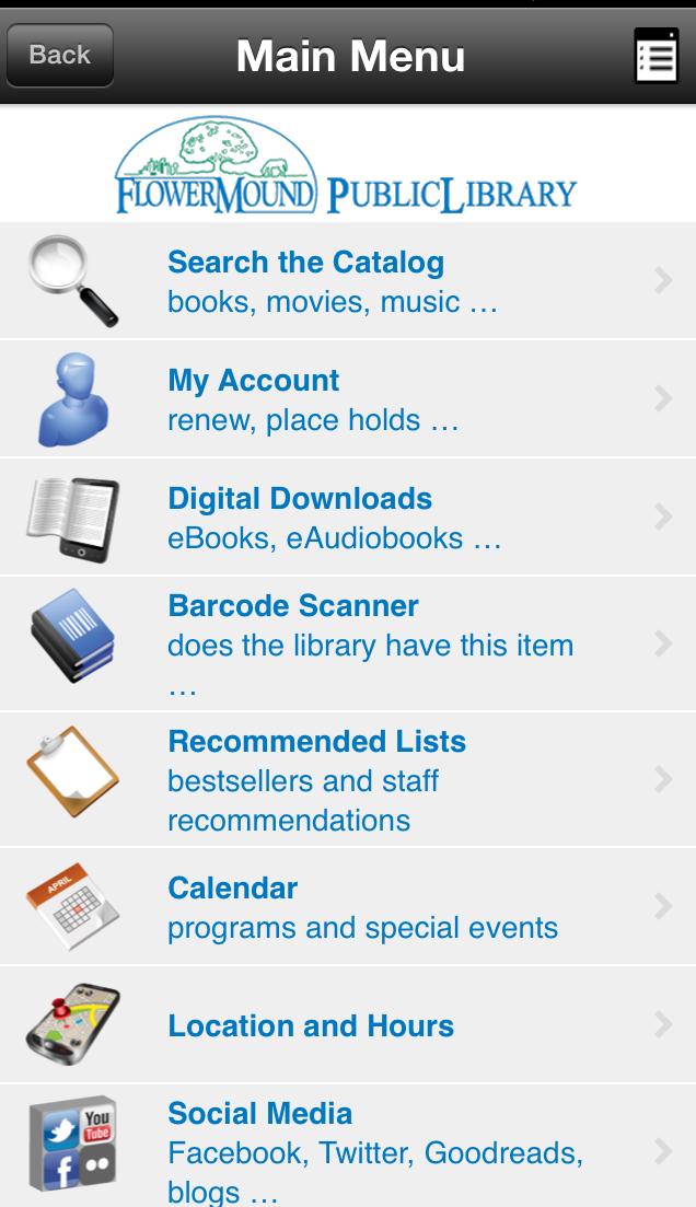 Official Website Calendar program, Library, Library events