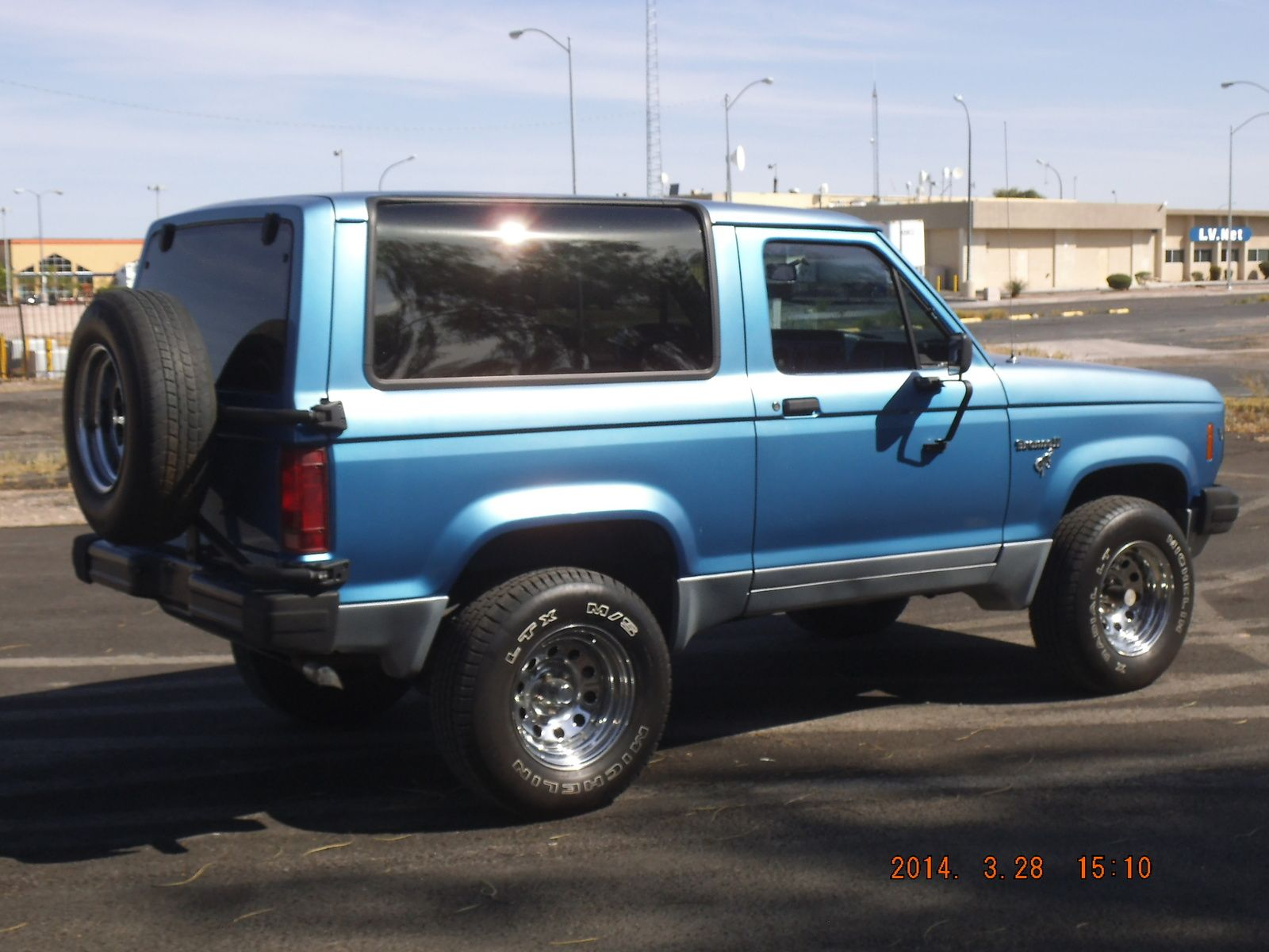 Bronco 2 1984 ford bronco ii xls 4wd used cars in las vegas nv 89104