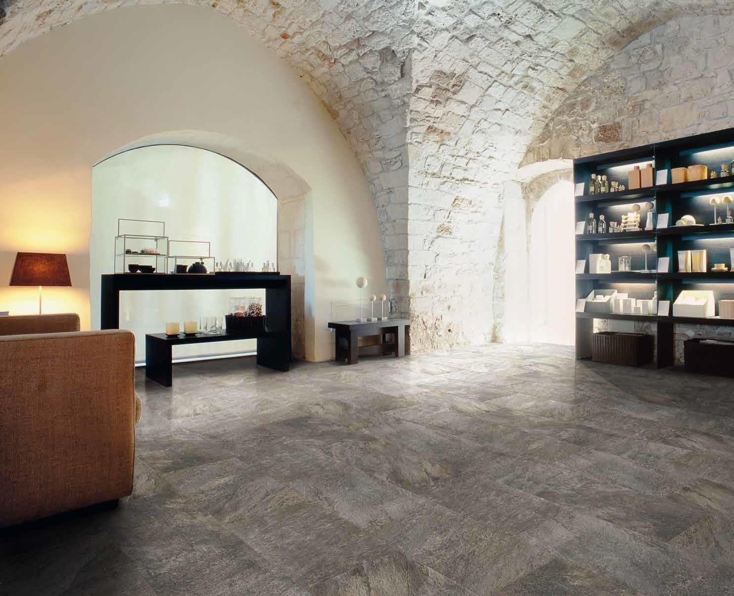 Emilceramica #Anthology Stone Indoor Dark Grey 30x60 cm 63K39R ...