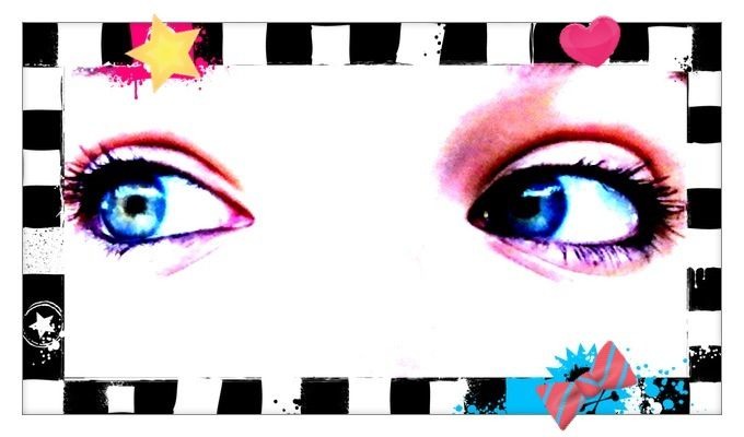 Pretty Blue Eyes....which are mine;)