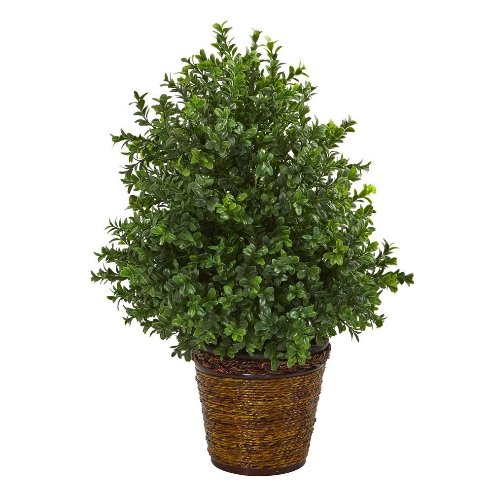 Nearly Natural 23 In Sweet Grass Artificial Plant In Basket Indoor Outdoor 8876 The Home Depot Artificial Plants Outdoor Artificial Plants Indoor Artificial Foliage