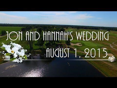 Jon And Hannahs Wedding Via Drone
