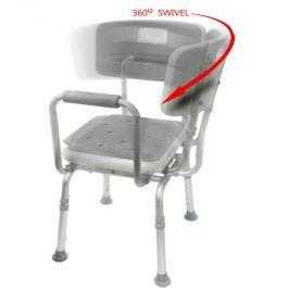swivel shower chair 2.0 in 2020 | shower chair, shower