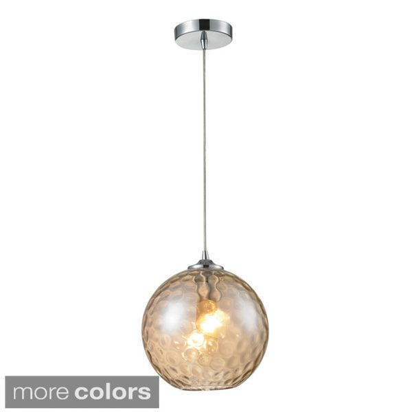 Elk lighting watersphere 1 light polished chrome pendant elk lighting watersphere 1 light polished chrome pendant overstock shopping the aloadofball Image collections