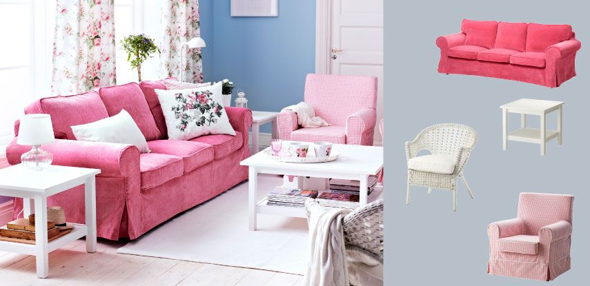 Living room moodboard. Pink and white combo. | My future home ...