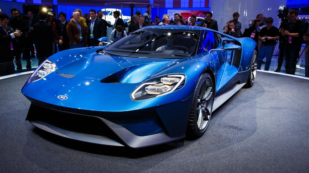 2016 Ford GT is the sexiest sheet metal in Detroit (pictures) - Page ...