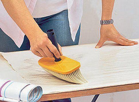 Papiertapete tapezieren   Kleister, Tapezieren und Renovieren