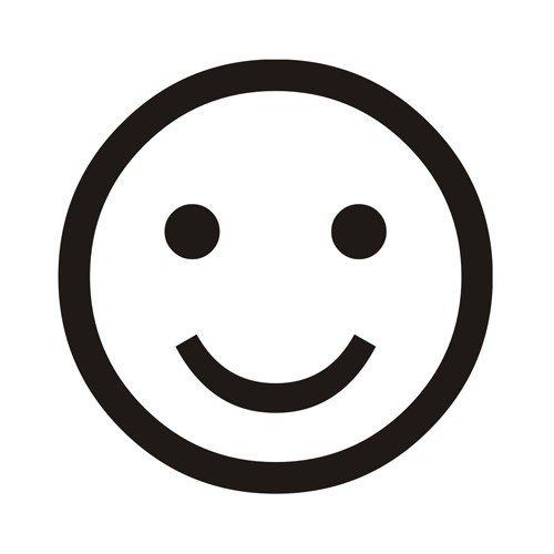 Pin By Eto Ya On Logo Id 1 Happy Smiley Face Line Art Vector Emoticon