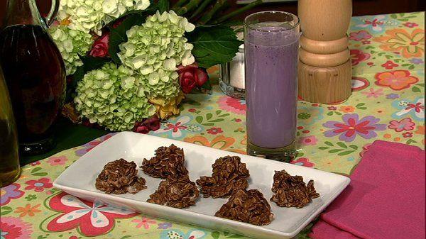 the chew | Recipe  | Mario Batali's Blueberry Ice Milk