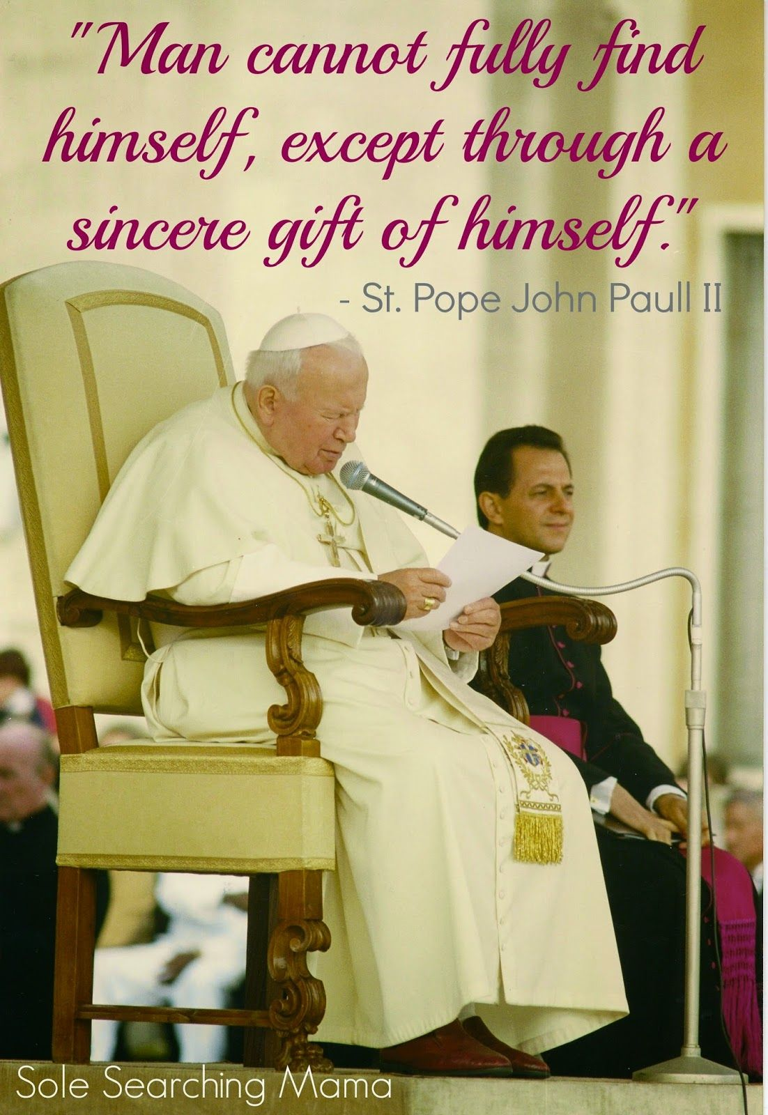 The Story Of Our Meeting With St John Paul Ii For The Blessing Of
