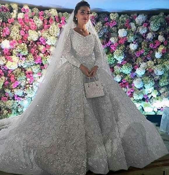A One Million Dollar Royal Wedding Dress By Eliesaab Lebanese