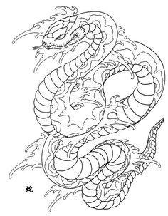 Japanese Water Snake Tattoo Ink Art Japanese Tattoo Horicho Traditional Traditional Japanese Snake Tattoo Design Japanese Snake Tattoo Japanese Tattoo