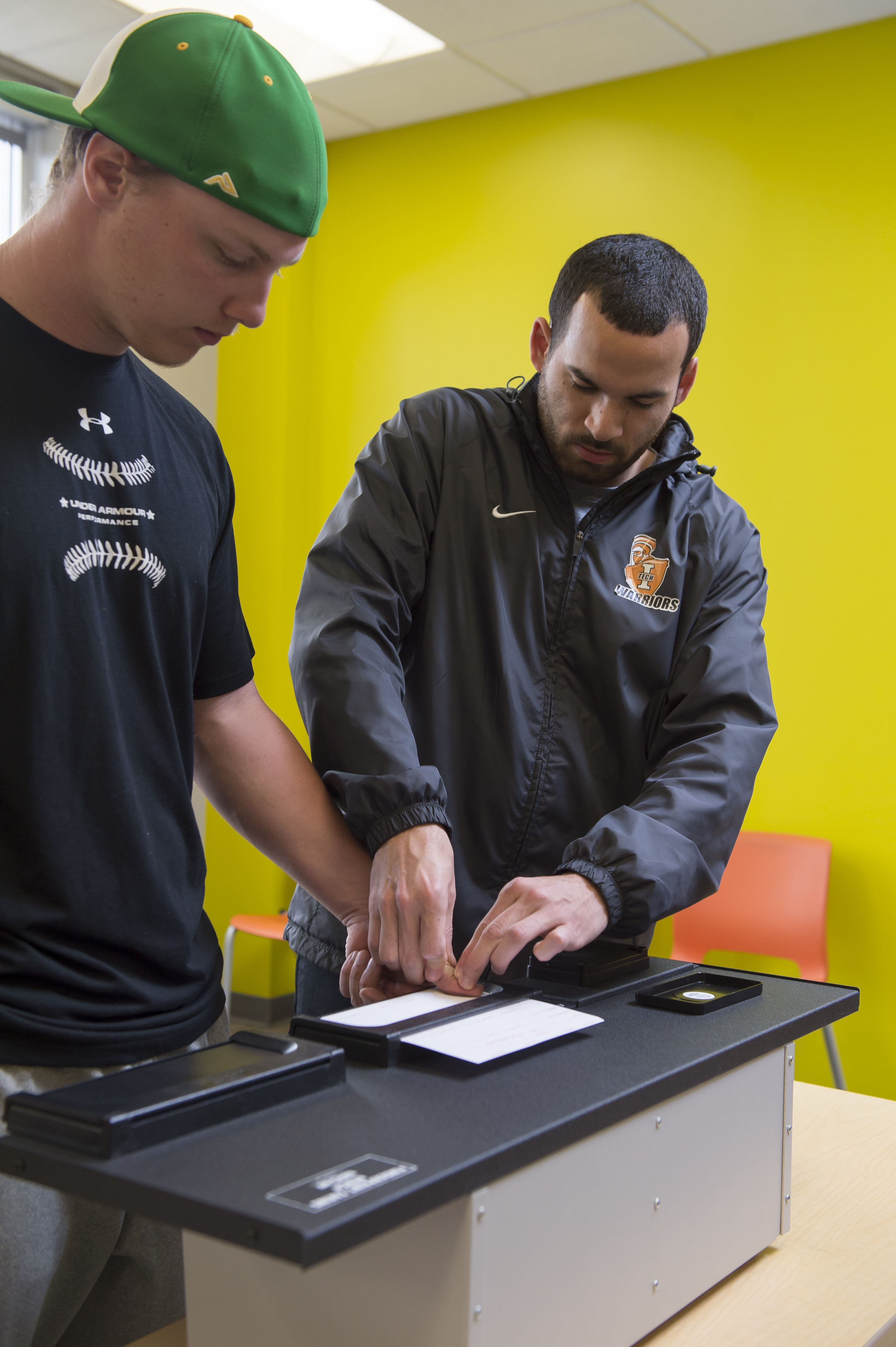 Fingerprinting In A Criminal Justice Class
