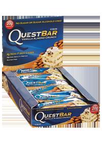 Questbar Vanilla Almond Crunch By Quest Nutrition Buy Questbar