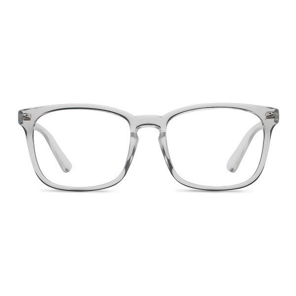 Men\'s Uptown - Clear square plastic - 16479 Clear Rx Eyeglasses (245 ...