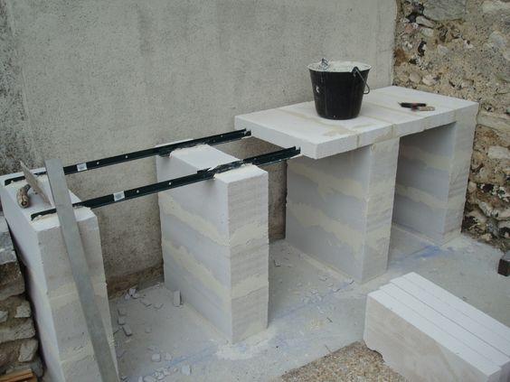 construction du0027un barbecue sur mesure barbekü Pinterest