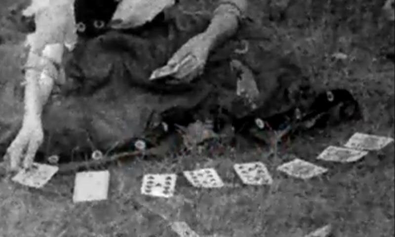 Gipsy Fortune Teller 1950s * Gipsy Fortune Telling Cards