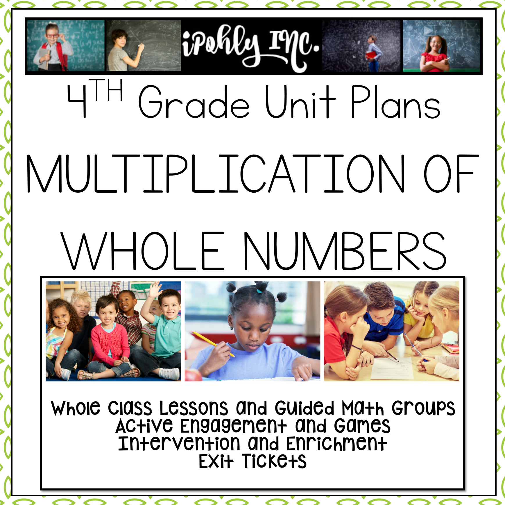 Lesson Plans Multiplication Of Whole Numbers 4 4b 4 4c 4