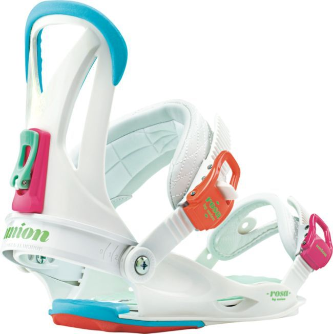 Union Rosa White Womens Snowboard Bindings