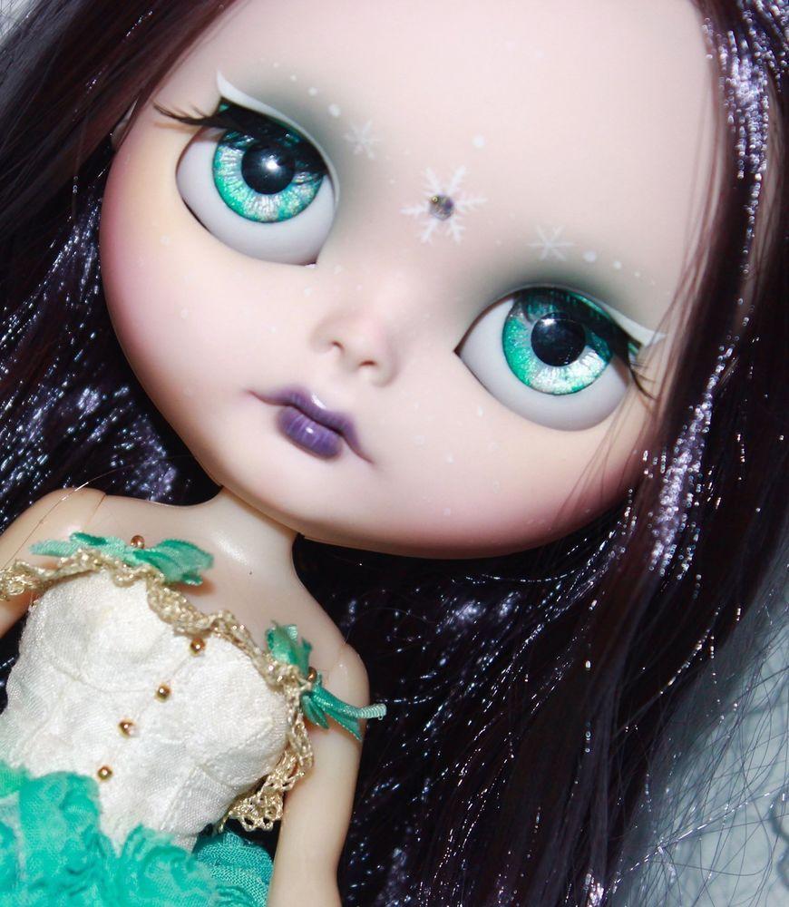 Factory TBL Blythe Ice Princess Custom Ooak Doll  #Blythe