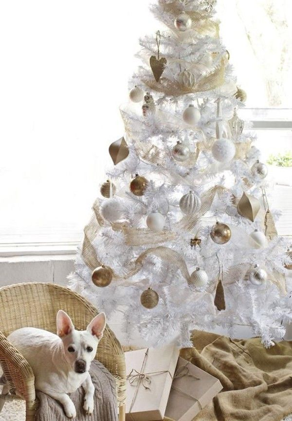 luxuriant white 2014 christmas tree decorating ideas artificial white 2014 christmas trees better than the real thing 2014 christmas