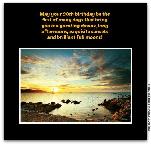 90th Birthday Wishes Messages For 90 Year Olds