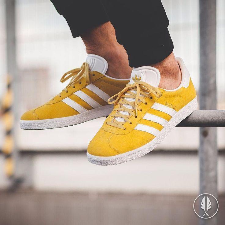 Damen Adidas Originals Gazelle Gelb