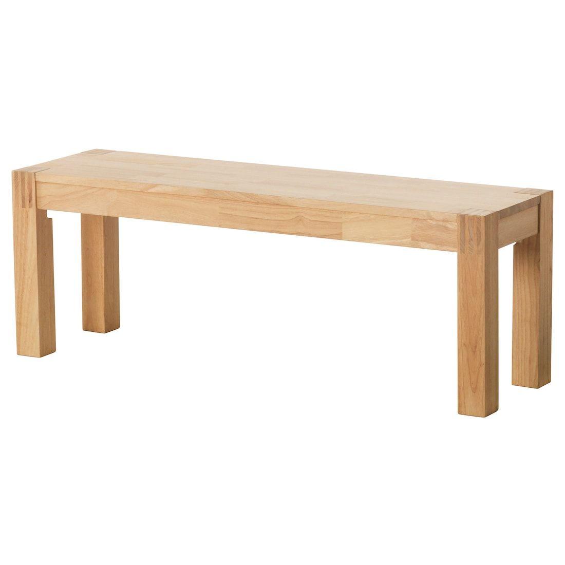 Nordby Bank Gummibaum Heute Noch Kaufen Ikea Deutschland In 2020 Sitzbank Holz Ikea Stuhle Esszimmer Sitzbank Esszimmer Ikea