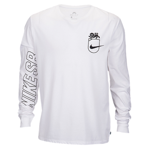 Nike SB Dry DFC L/S Lion TShirt Men's at Eastbay Long