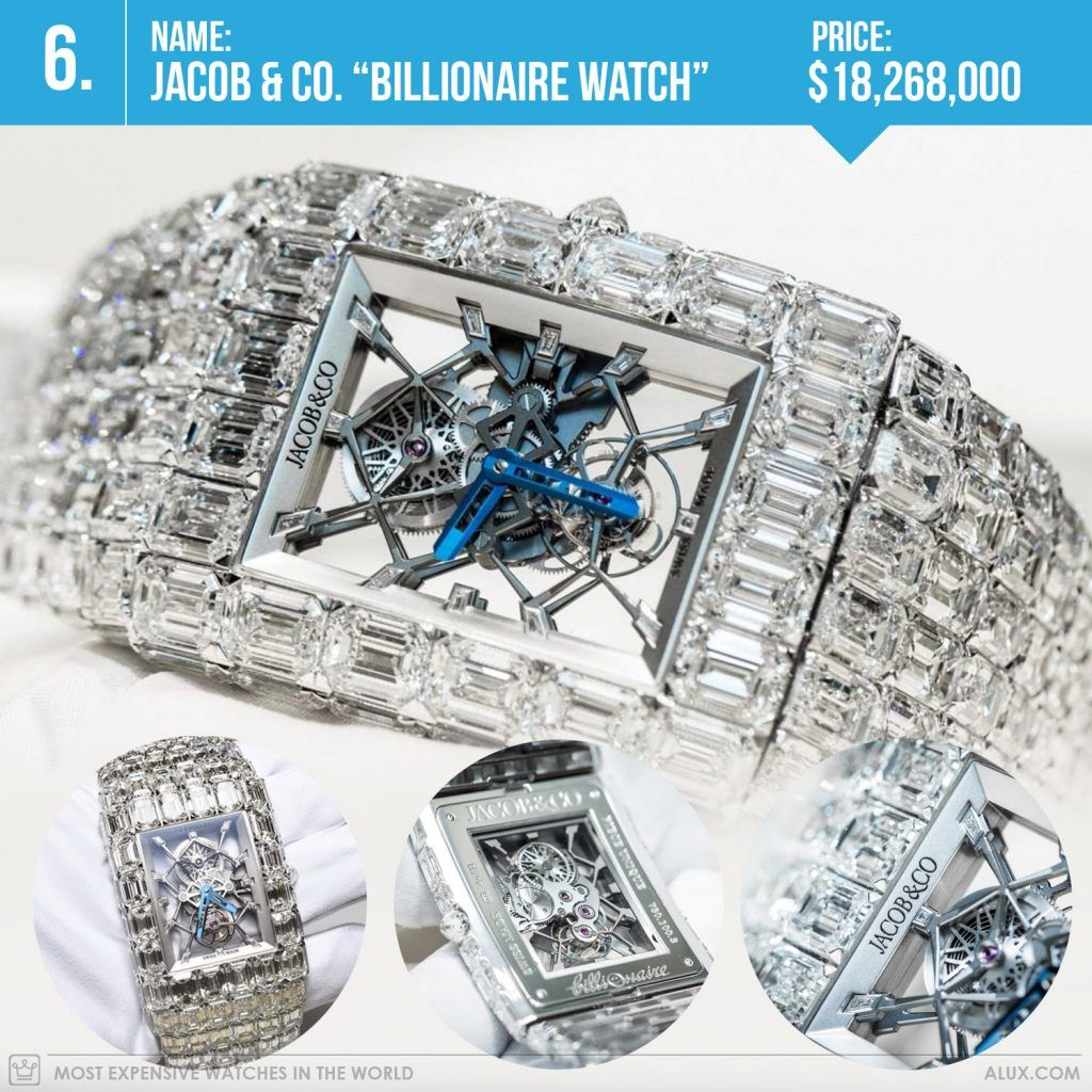 Most Expensive Watches In The World 2017 Jacob Co Billionaire Watch