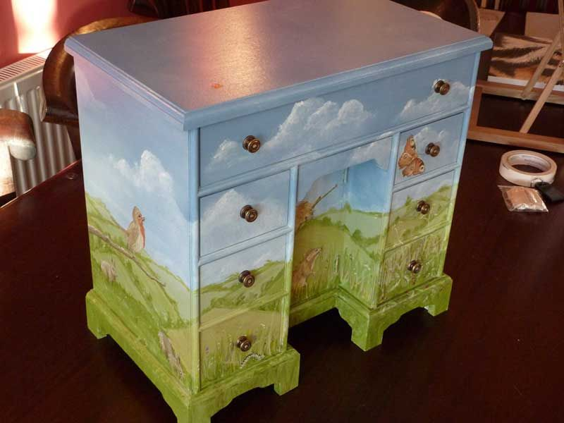 Whimsical Painted Furniture | Please Contact Us If You Would Like To See  More And We